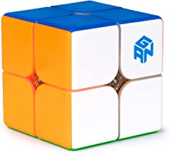 GAN 249 V2, 2x2 Speed Cube Gans Mini Cube Puzzle Toy 2x2x2 Magic Cube 49mm (Stickerless)