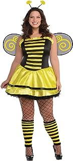 amscan Adult Bumble Beauty Costume - Plus XXL (18-20), Multicolor 847008