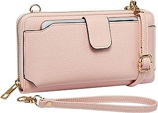 Heaye Wristlet Wallet with Cell Phone Holder Crossbody Phone bag Women Wallet