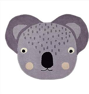 OYOY – matta – koala – 80 % ull – 20 % bomull – 100 x 85 cm