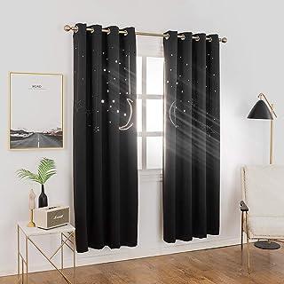 MANGATA CASA Star Blackout Curtains Grommet Thermal 2...