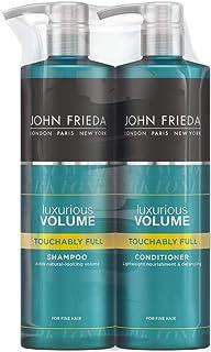John Frieda Volume Shampoo and Conditioner for Fine Hair, 2 x 500 ml