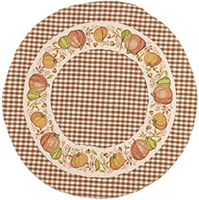 Country House Collection 31427 Harvest Mat, 14-inch Diameter