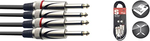 Stagg STC3P Cable Bretelle Jack 3m