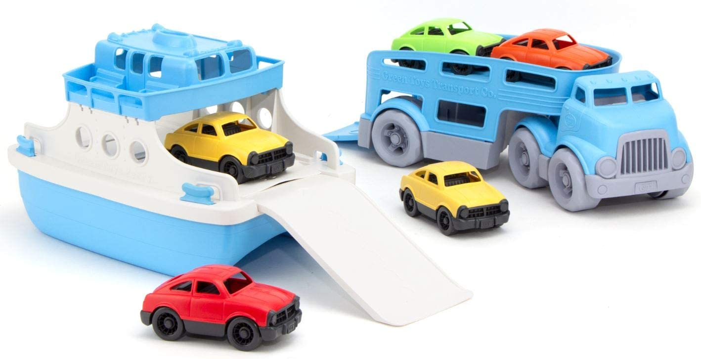 Green Toys Ferry Carrier Popular brand Luxury goods Car Boat