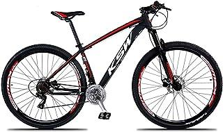 Bicicleta Aro 29 KSW XLT 24v Câmbios Shimano TX-800 Freio a Disco Hidráulico com Suspensão