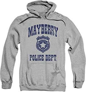 Popfunk Andy Griffith Mayberry Police Department Pullover Hoodie Sweatshirt & Stickers