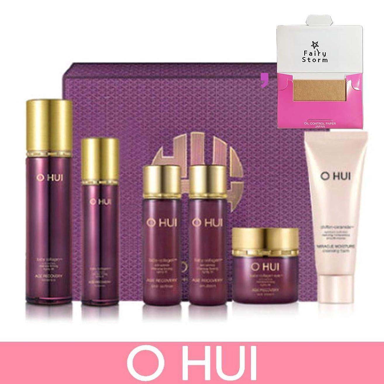 位置づける謎楽しませる[オフィ/O HUI]韓国化粧品 LG生活健康/O HUI AGE RECOVERY Essence Special SET/エイジリカバリーエッセンス2種企画セット+ [Sample Gift](海外直送品)