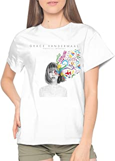 Adult Womens Cool Music Concert Summer Short Sleeves T Shirts Gift