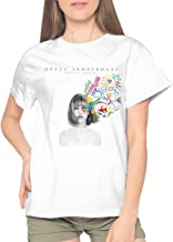 Honghuawenhua Adult Womens Cool Music Concert Summer Short Sleeves T Shirts Gift
