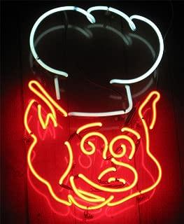 iecool BBQ Pig Neon Sign 17
