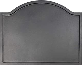 Minuteman International Plain Design Cast Iron Fireback, Large