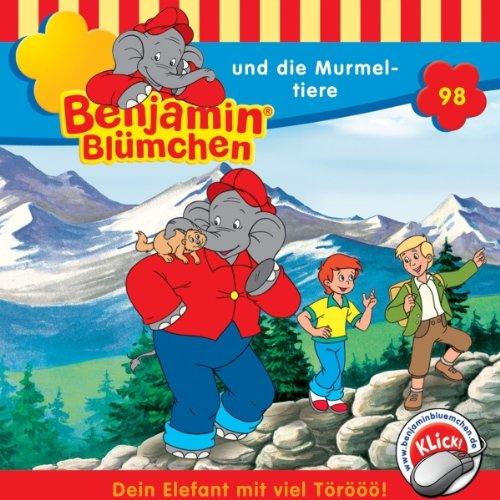 Benjamin und die Murmeltiere (Benjamin Blümchen 98) Titelbild