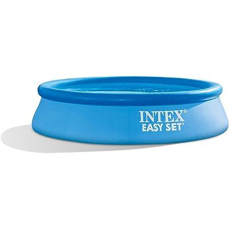 INTEX Piscinette easy set autoportante (ø)2,44 x (h)0,61m