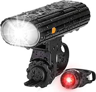 Te-Rich Bicycle Lights, 800 Lumens Bike Light Front...