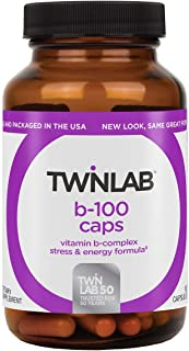 Twin Lab B-100 Capsules, 100-Count
