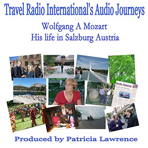 Wolfgang A. Mozart audiobook cover art