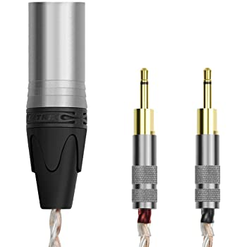 Silver Plated Wire 3m//9.9ft Sukira HiFi Cable for Sennheiser HD700 Headphones Balance Line Upgrade Cable 4-pin XLR Male