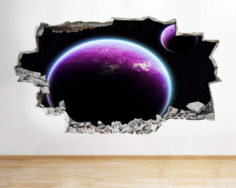 Wall Sticker Stickers Moon Space Planets Earth Boys Ranking TOP5 Choice Bedroom