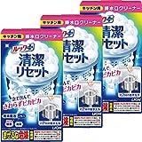 【Amazon.co.jp 限定】【まとめ買い】ルックプラス 清潔リセット 排水口まるごとクリーナーキッチン用 3個パック