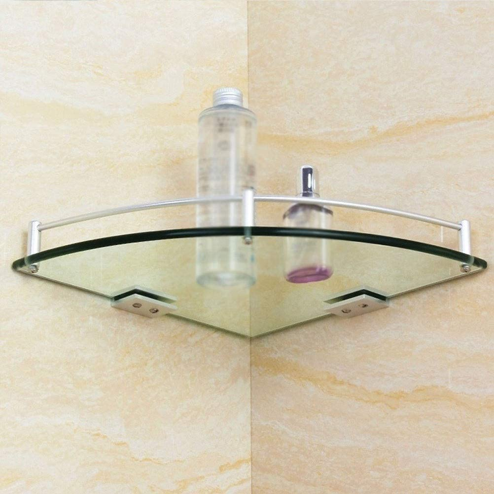 ZHANMAM Bathroom Shelf Cosmetics with Temp Las Vegas Mall Thick Year-end annual account 7mm Super