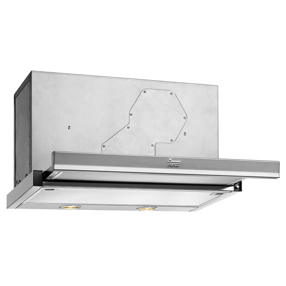 Teka CNL1 3000 - Campana (427 m³/h, 60 Db, Built-under, Halógeno, Plata, Metal): Amazon.es: Hogar