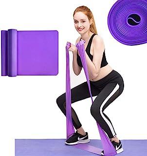 comprar comparacion MENGZF12 Banda Elástica Fitness,Largo Yoga Cintas Elásticas Látex Natural para Fitness, Estiramiento, flexibilidad, pilate...