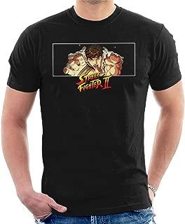 Street Fighter II Ryu Hadouken Men's T-Shirt