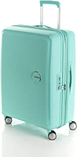 American Tourister Curio Hardside Spinner Suitcase, 69 Centimeter, Mint Green