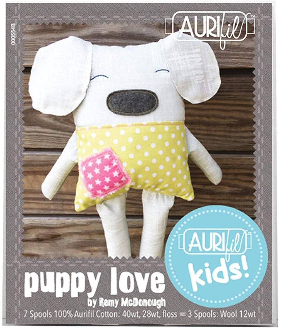 Remy McDonough Aurifil Kids Puppy Love Aurifil Thread Kit 10 Mixed Small Spools RMPL10
