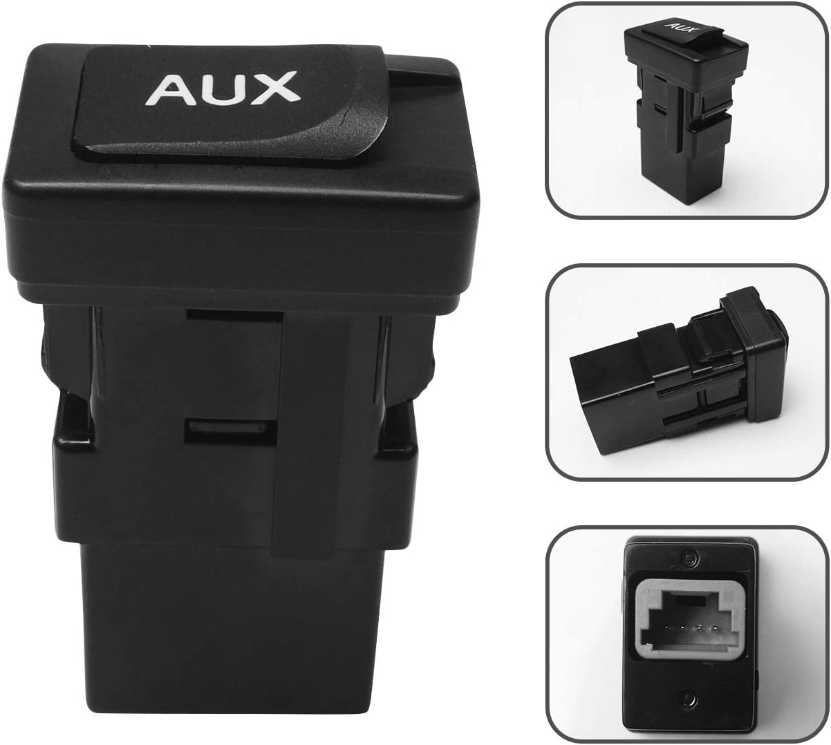 Monrand 86190-06010 Aux Jack Car Input Auxiliary Adapter Audio store Weekly update