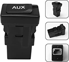 Monrand 86190-06010 Aux Jack, Car Auxiliary Audio Adapter Input Jack Compatible with 2005-2012 Toyota Camry Aux Jack 2010 ...