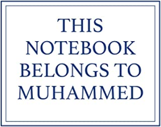 This Notebook Belongs to Muhammed