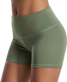 SEASUM Women Sports Short Scrunch Butt Pants Gym Running...