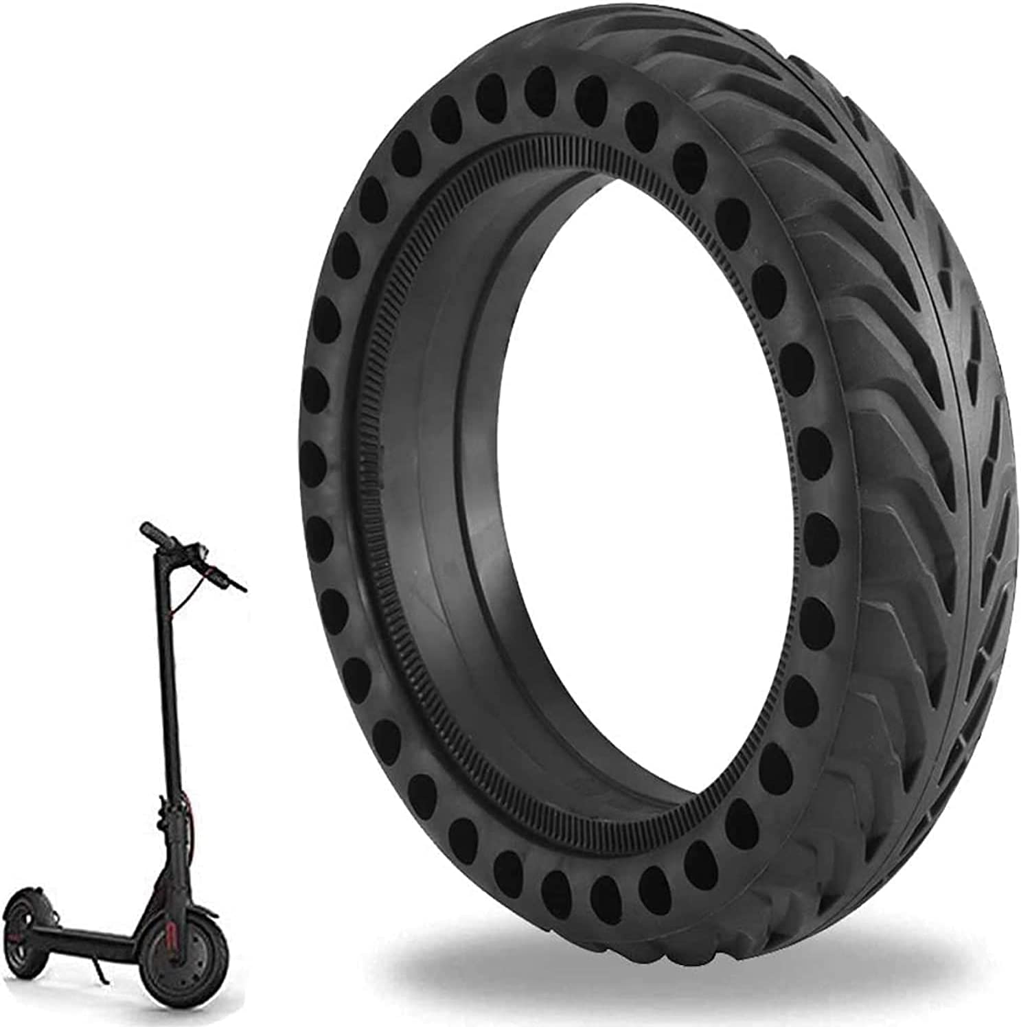 BIAN-63 New popularity Electric Scooter Tires 10x2.50 Explosion-Proo New item Honeycomb