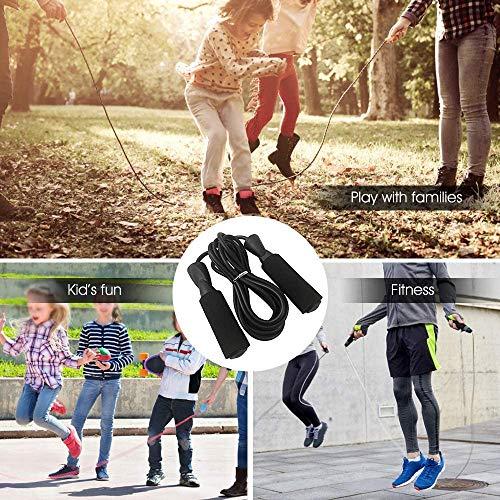Wuudi 5 in 1 Set da Palestra, Ruota Addominali Set, Base di Appoggioper le Ginocchia , Corda per Saltare, Bande Elastici Fitness, Fascia di Resistenza per il Fitness e l'Allenamento dei Addominali