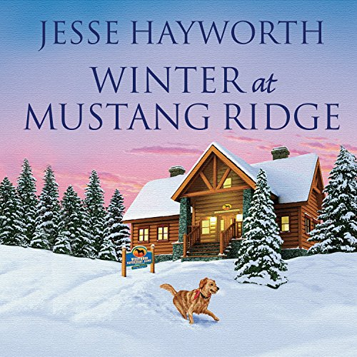 Winter at Mustang Ridge audiobook cover art