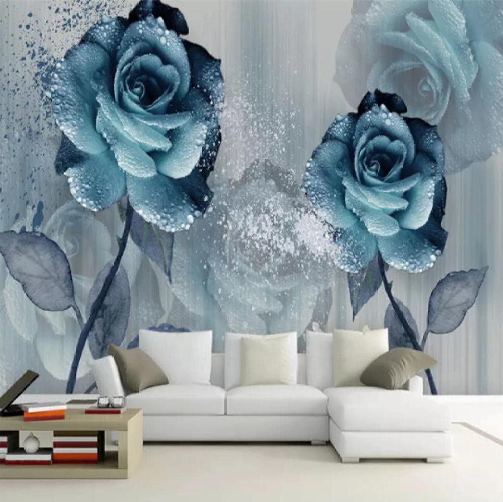 Glfeng Max 49% OFF Max 42% OFF Modern Watercolor Wind Bright Enchantress Blue Beautiful
