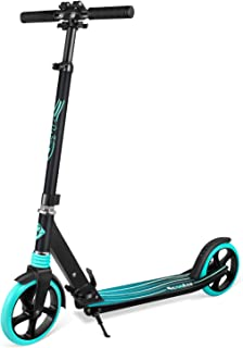 BELEEV V5 Scooters for Kids 8 Years and up, Foldable Kick Scooter 2 Wheel, Quick-Release Folding System, Shock Absorption Mechanism, Large 200mm Wheels Great Scooters for Adults and Teens