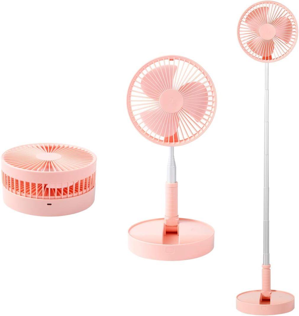 GENNISSY 5 ☆ popular Telescopic Manufacturer OFFicial shop Folding Fans PortableStand Fan Floor