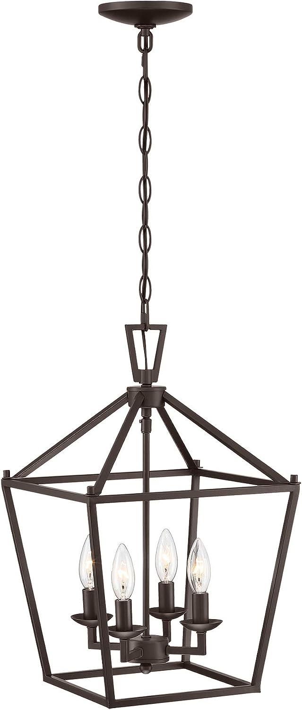 MOTINI Sale item 4-Light Lantern Pendant Light 12 Rubbed Bronze Oil Finish Opening large release sale