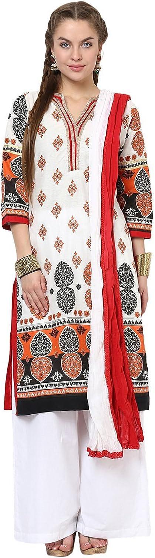 Yepme Women's Blended Salwar Kameez Set Round Neck
