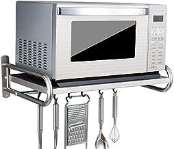 JYGZJZ Estante de microondas de Acero Inoxidable 304 / estantes de Cocina (tamaño: 53 * 38 * 18 cm)