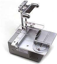 GJNVBDZSF Sierra de Mesa pequeña Multifuncional de 12-24 V, Sierra eléctrica en Miniatura de 2500-5000 RPM, Sierra de precisión de Escritorio para Bricolaje, máquina cortadora pequeña, taladradora