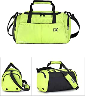 Travel Bag Gym Bag High Capacity with Shoes Compartment and Wet Dry Storage Pockets Waterproof & Durable Duffel Bag Carrying Workout Gear