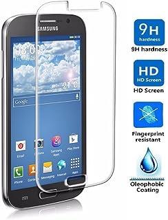 REY Protector de Pantalla para Samsung Galaxy Grand Neo Plus Cristal Vidrio Templado Premium