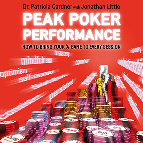 Peak Poker Performance audiobook cover art