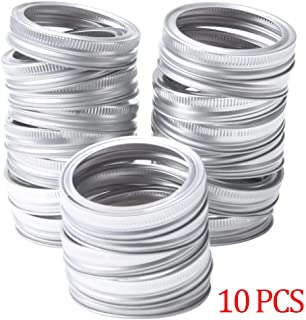 Chef Vinny Canning Lids Regular Mouth Mason Jar Lids And Bands Lids For Mason Jar Wide Mouth Split-type Lids Leak Proof An...