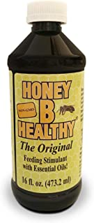 Honey B Healthy Original 16 oz. Bottle, Feeding Stimulant with Essential Oils