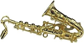 Miniblings Saxofón saxofón Broche saxofón Pin + Caja verg. saxófono
